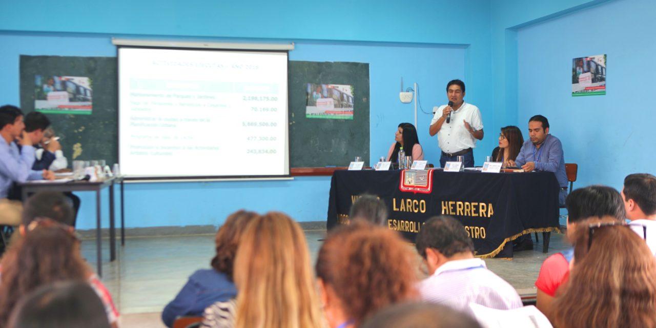 En marcha Presupuesto Participativo 2020 en Víctor Larco