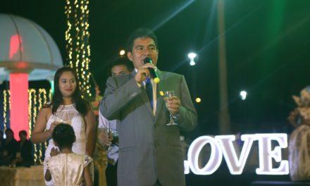 Centenar de parejas se casaron en espectacular ceremonia