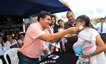 Lanzan programa regional de visitas contra la anemia en Víctor Larco