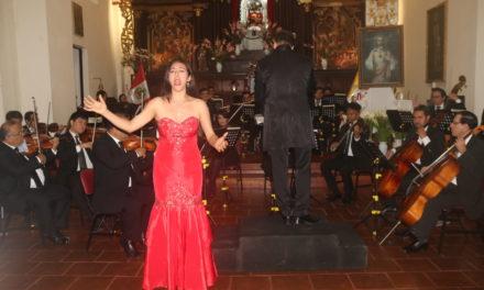 Orquesta Sinfónica de Trujillo deleitó en Huamán