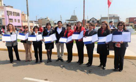 Alcalde César Juárez impulsará reconstrucción de colegios y jardines