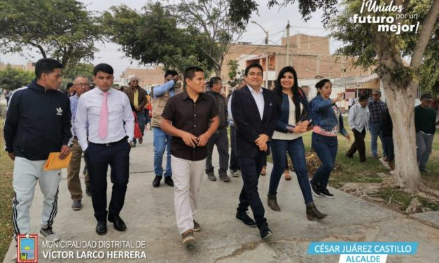Inician mejoramiento del parque Victoria Pinillos en Túpac Amaru