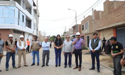 Construirán pistas y veredas en varios sectores de Víctor Larco