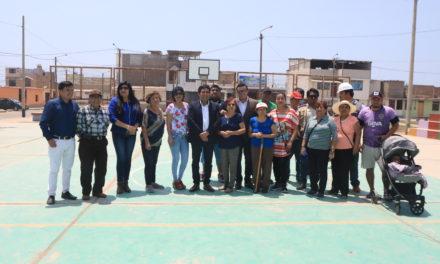 Inician mejoramiento del parque Víctor Raúl Haya de La Torre
